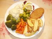 Klanc - ponudba za vegetariane